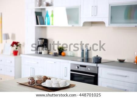 New modern kitchen interior #448701025
