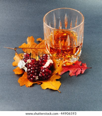 pomegranate & cognac #44906593