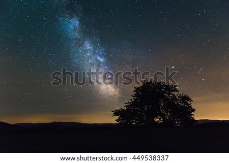 Milky Way #449538337