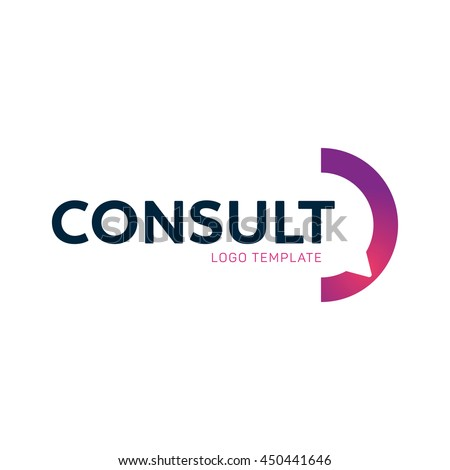 Consulting agency logo #450441646