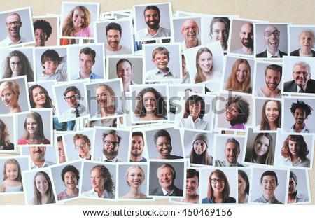 Smiling people #450469156