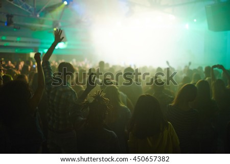 People at concert #450657382