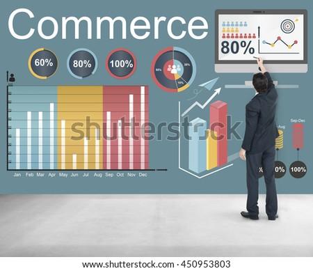 Commerce Retail Shop Buy Sale Market Concept #450953803