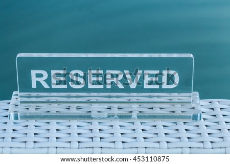 the transparent plate is reserved for beautiful background acrylic plate