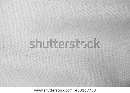 white fabric cloth texture #453169753