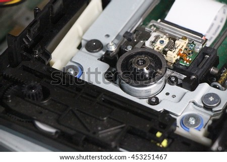 dvd drive pick up mechanism #453251467