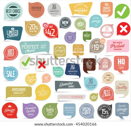 Badges and labels collection #454020166