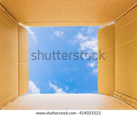 Thinking outside the open box to sky