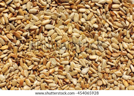Sunflower seeds.  For texture or background #454065928