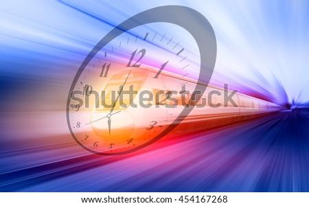 high speed train #454167268