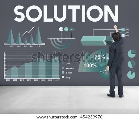 Business Profit Results Analytics Statistics Concept #454239970