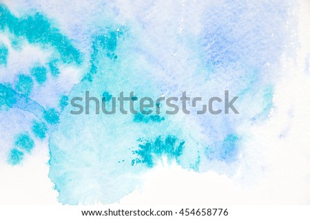 Abstract blue watercolor background #454658776