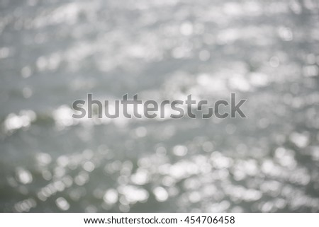 Abstraction blurred from sea as background texture. #454706458