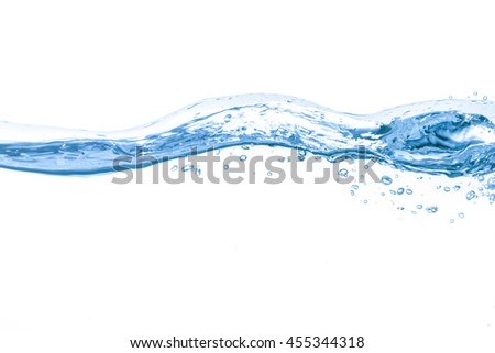 Water,water splash isolated on white background   #455344318