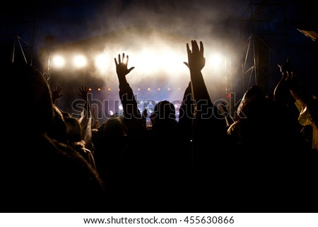Crowd at concert #455630866