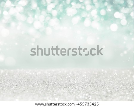 Abstract of Bright and sparkling bokeh background. blue diamond bokeh -blurred lighting from glitter texture. Luxury design background. #455735425