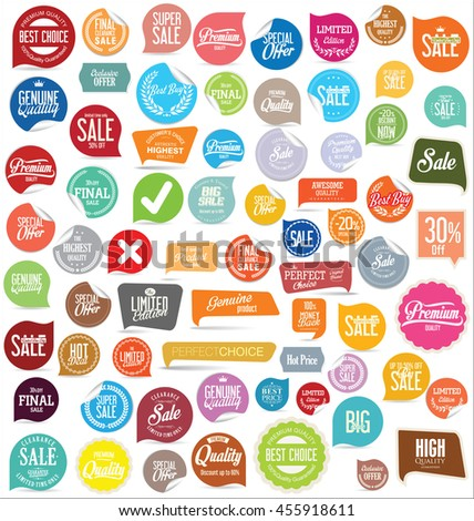 Badges and labels collection #455918611
