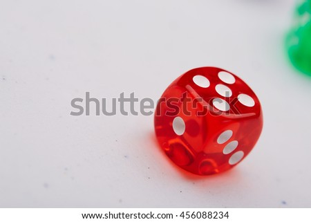 colored dice #456088234
