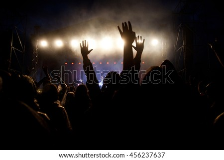 Crowd at concert #456237637