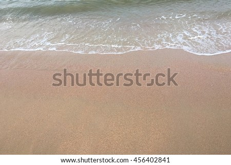 Nature background with sand beach #456402841