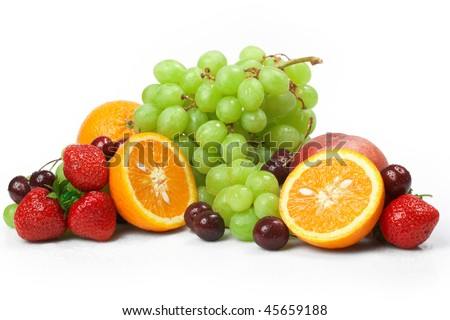 Still-life of fresh fruit #45659188