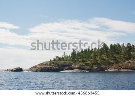 Karelia Valaam Island. #456863455