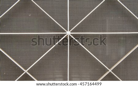 background mosquito wire screen and curved steel for home prevent mosquito #457164499