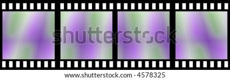 Colored Film Strip #4578325