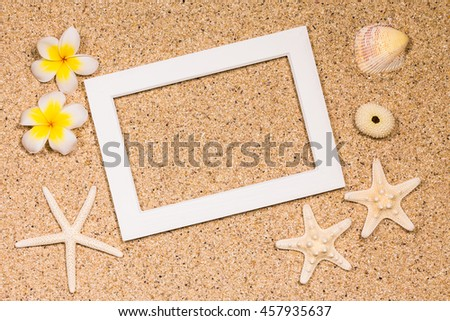 Tropical image photo frame?