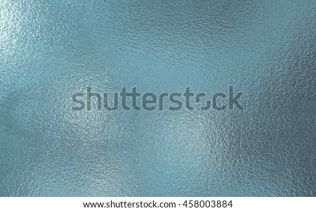 Light blue color frosted Glass texture background Royalty-Free Stock Photo #458003884