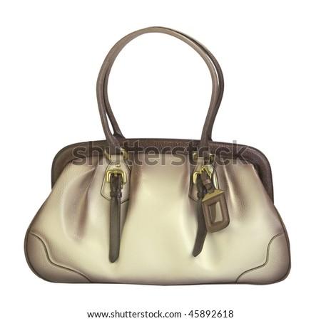 beige bag #45892618