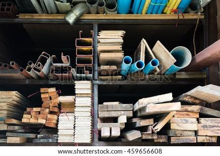 Shelf Construction Royalty-Free Stock Photo #459656608