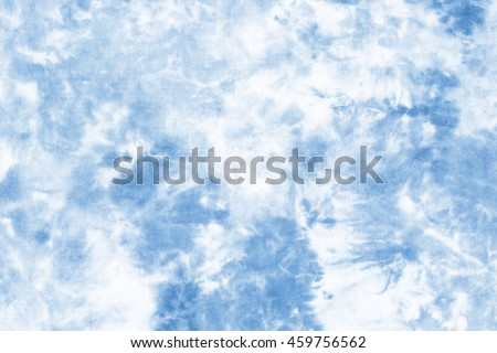 tie dyed pattern on cotton fabric for background.  #459756562
