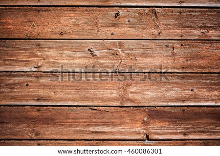 Old Shabby Wooden Planks with cracked color Paint, background, texture #460086301