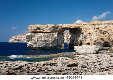 Azure Window on island Gozo, Malta #46056493