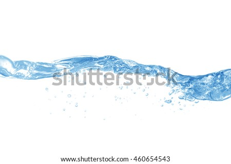 Water,water splash isolated on white background #460654543