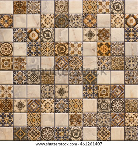 tile mosaic #461261407