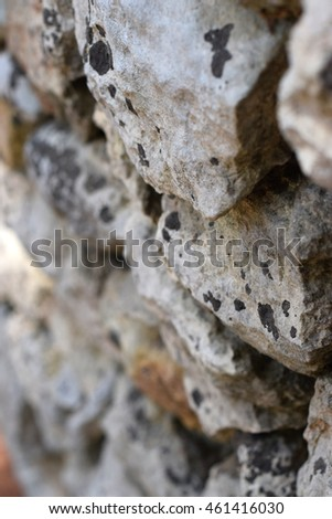 background with  texture of stones in the soft light #461416030