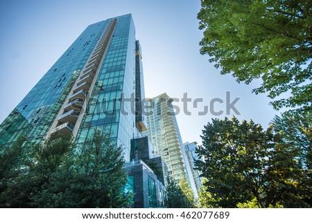 City Vancouver Royalty-Free Stock Photo #462077689