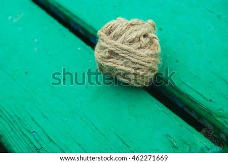 Thread on the green texture #462271669