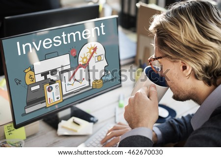 Investment Accounting Finance Auditing Banking Concept #462670030