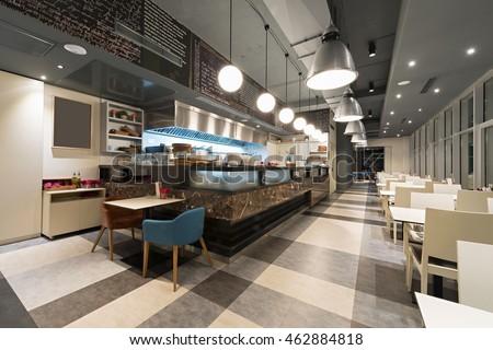 Cuisine in modern restaurant #462884818