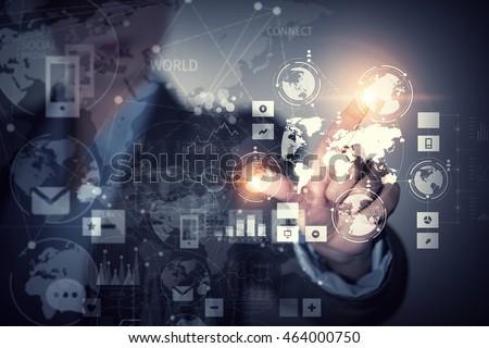 Using innovative technologies . Mixed media #464000750
