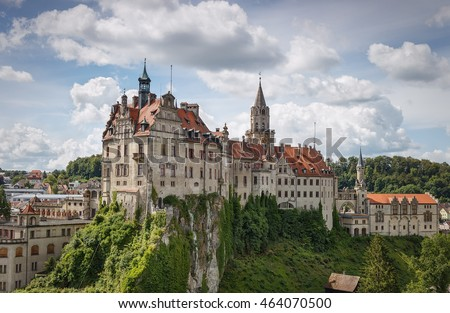 Ancient castles . Sigmaringen. Black Forest. Germany. #464070500