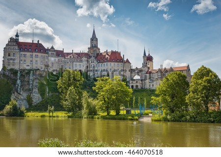 Ancient castles . Sigmaringen. Black Forest. Germany. #464070518