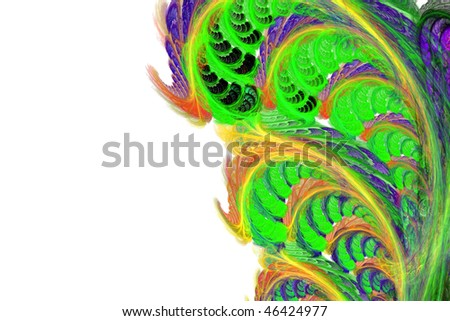 fractal abstraction #46424977