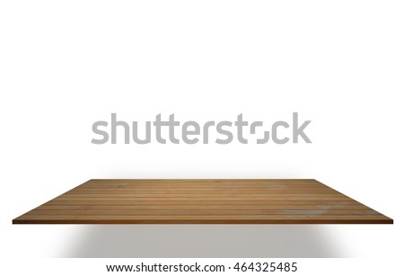 A bamboo bord on white background.  #464325485