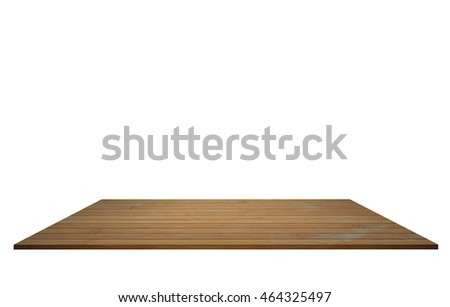A bamboo bord on white background.  #464325497