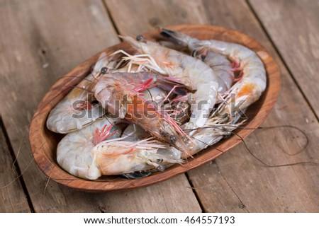 Fresh Louisiana Shrimp Caught in the Gulf of Mexico #464557193