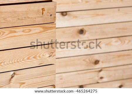 The texture of a tree, board which is laid out in the line. #465264275